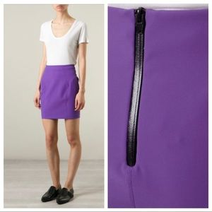 T by Alexander Wang Straight Mini Skirt